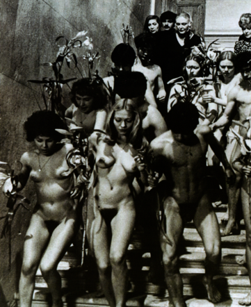 Nakedness and the transgressive motif: the sleeve of the booklet accompanying the BFI Blu-ray release of Salò